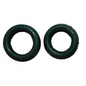Rubber donut for side reins